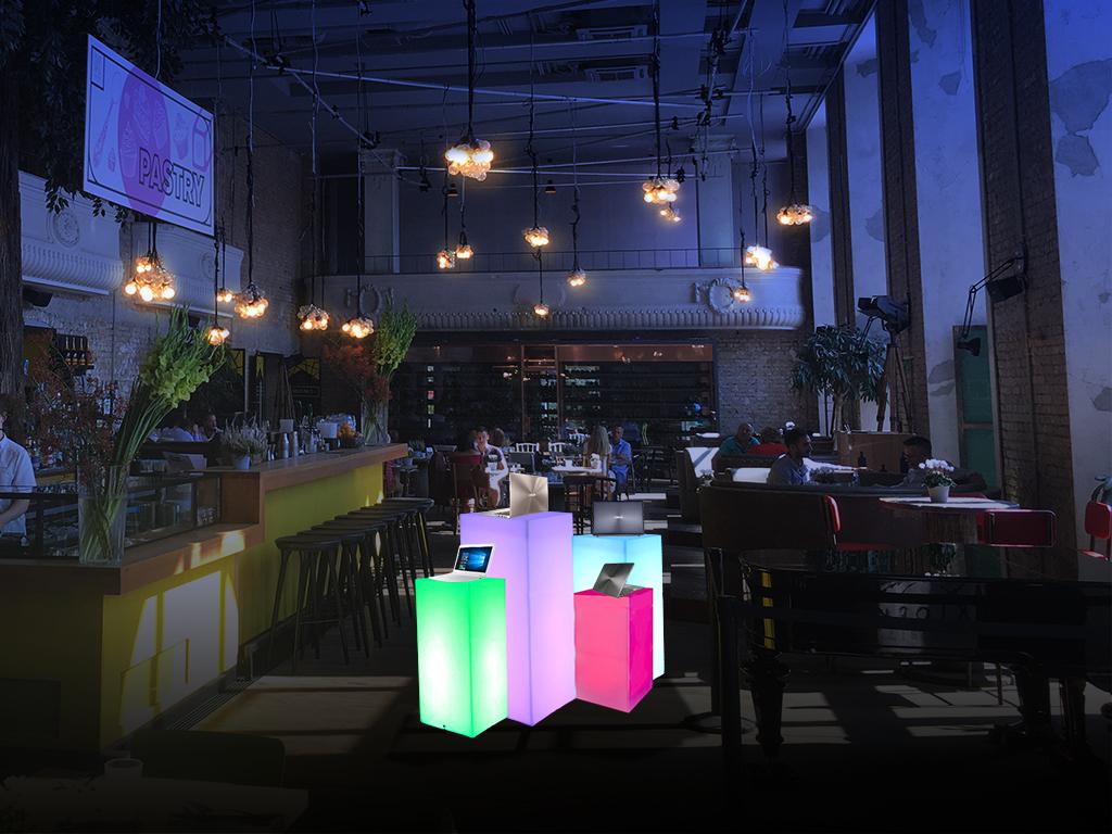 Femcafe Kiosk világítós látványterv2